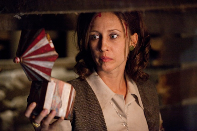The Conjuring Bleeding Farmiga