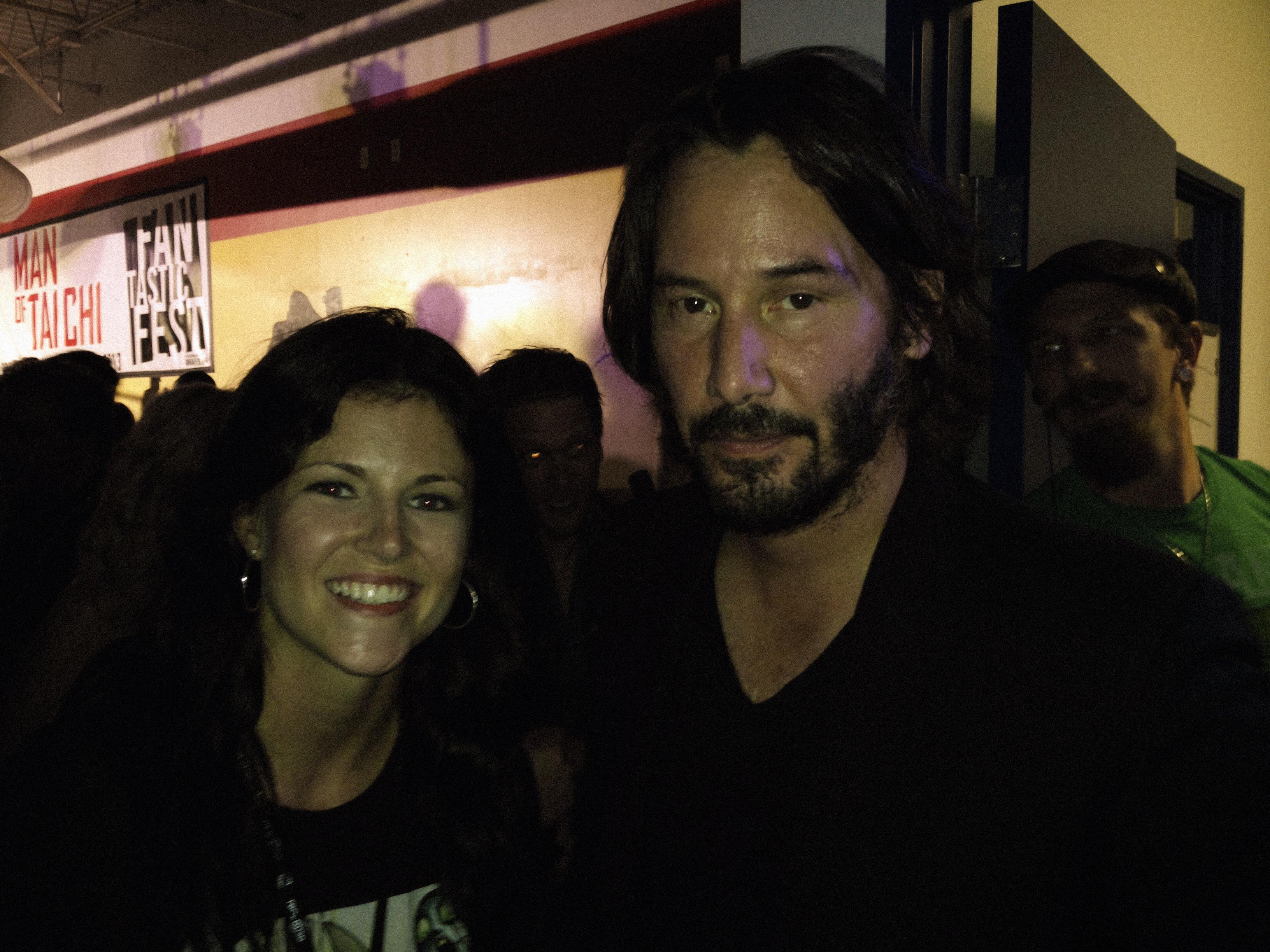 Keanu Reeves 2013 Girlfriend Meeting keanu reeves.