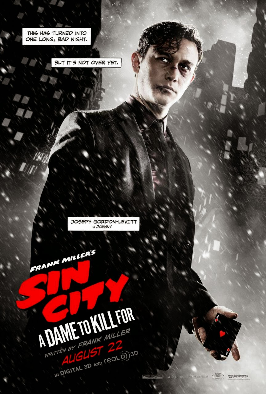 SIN CITY: A DAME TO KILL FOR (2014) Trailer Posters ...