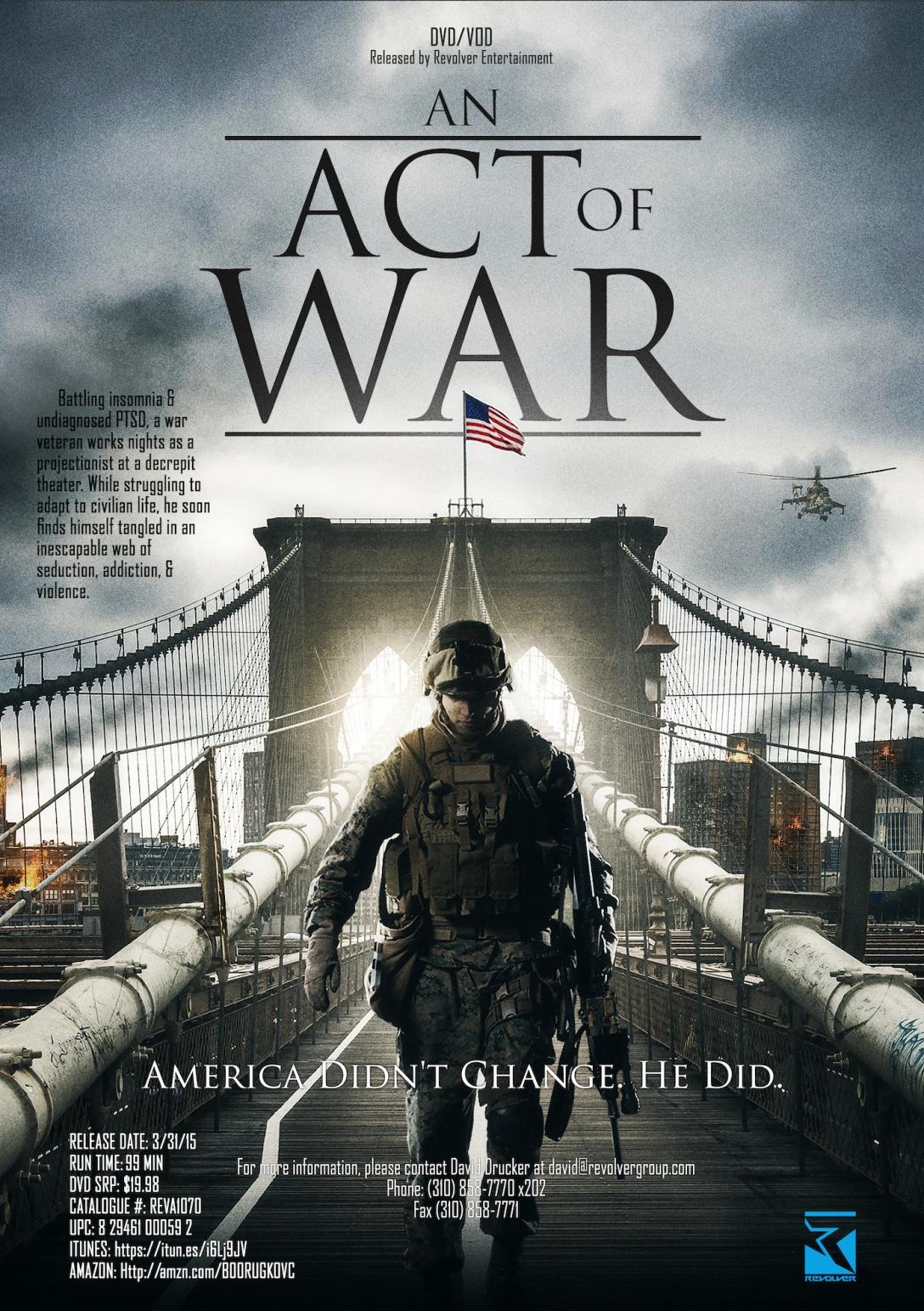 An+Act+of+War+One-Sheet